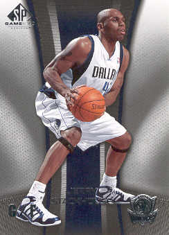 2006-07 SP Game Used #20 Jerry Stackhouse