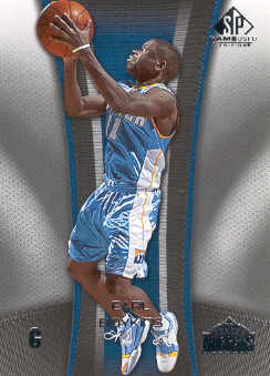 2006-07 SP Game Used #22 Earl Boykins