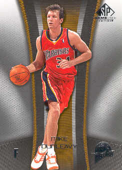2006-07 SP Game Used #29 Mike Dunleavy