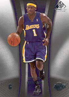2006-07 SP Game Used #43 Smush Parker