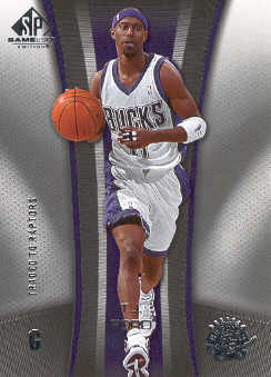 2006-07 SP Game Used #53 T.J. Ford