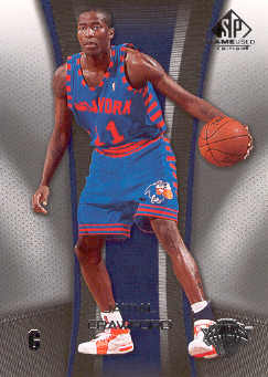 2006-07 SP Game Used #65 Jamal Crawford
