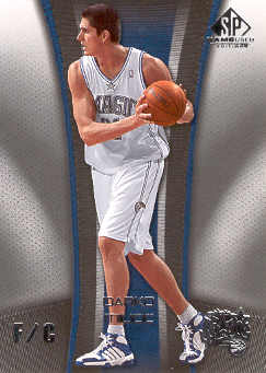 2006-07 SP Game Used #70 Darko Milicic