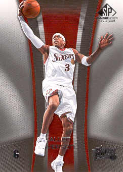 2006-07 SP Game Used #72 Allen Iverson
