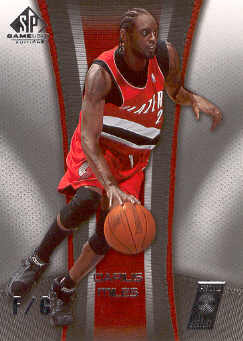 2006-07 SP Game Used #78 Darius Miles