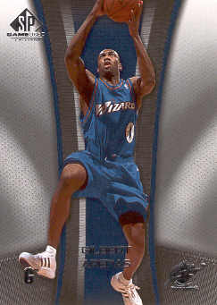2006-07 SP Game Used #98 Gilbert Arenas