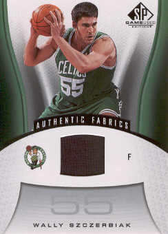 2006-07 SP Game Used #106 Wally Szczerbiak JSY