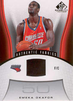2006-07 SP Game Used #109 Emeka Okafor JSY
