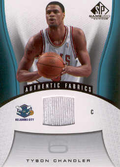 2006-07 SP Game Used #110 Tyson Chandler JSY