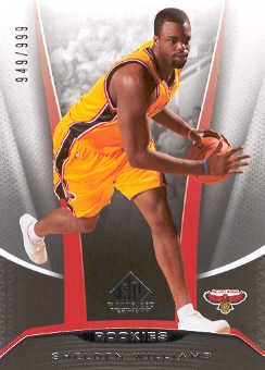2006-07 SP Game Used #205 Shelden Williams RC