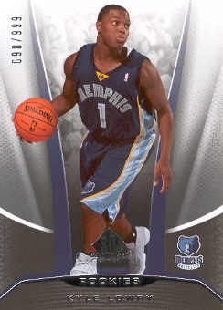 2006-07 SP Game Used #224 Kyle Lowry RC