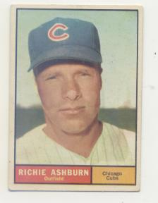 1961 Topps #88 Richie Ashburn front image