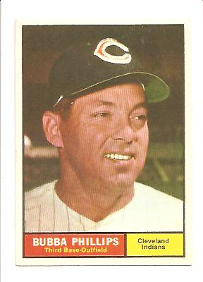 1961 Topps #101 Bubba Phillips