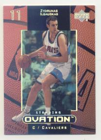 1999-00 Upper Deck Ovation Standing Ovation #10 Zydrunas Ilgauskas