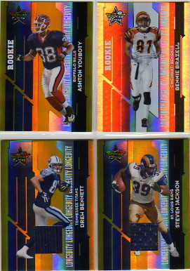 2006 Leaf Rookies and Stars Longevity Gold Parallel #122 Ashton Youboty