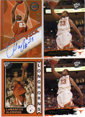 2006 Press Pass Power Pick Autographs #1 LaMarcus Aldridge