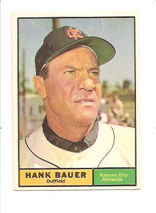 1961 Topps #398 Hank Bauer