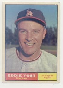 1961 Topps #413 Eddie Yost