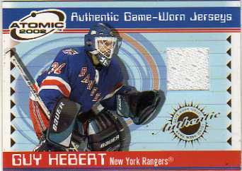 2001-02 Atomic Jerseys #40 Guy Hebert