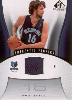 2006-07 SP Game Used #145 Pau Gasol JSY