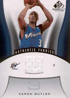 2006-07 SP Game Used #199 Caron Butler JSY