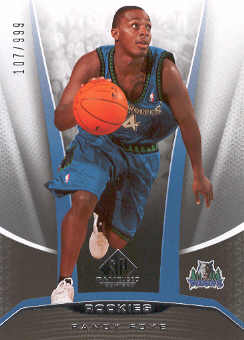 2006-07 SP Game Used #207 Randy Foye RC