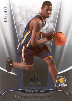 2006-07 SP Game Used #217 Shawne Williams RC front image