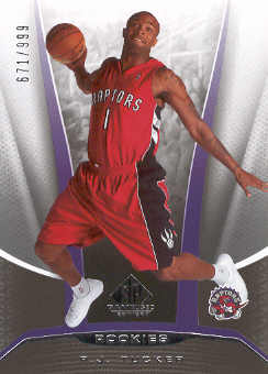 2006-07 SP Game Used #234 P.J. Tucker RC