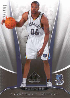 2006-07 SP Game Used #242 Alexander Johnson RC
