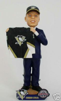 2006 Jordan Staal Draft Day Pittsburgh Penguins Bobble Head (ONLY 250 PRODUCED)(Bobblehead)
