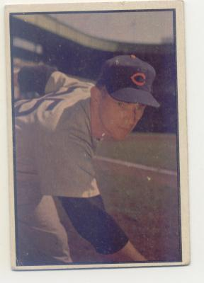 1953 Bowman Color #154 Turk Lown