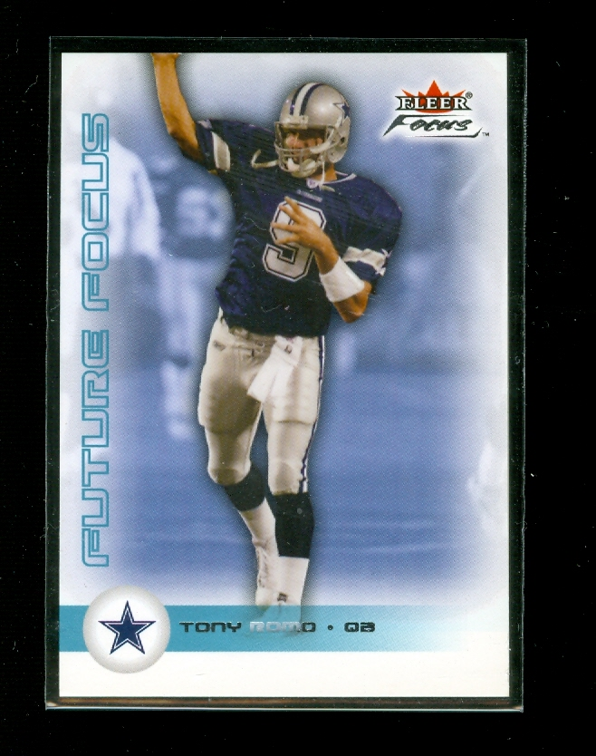 2003 Fleer Focus #135 Tony Romo RC