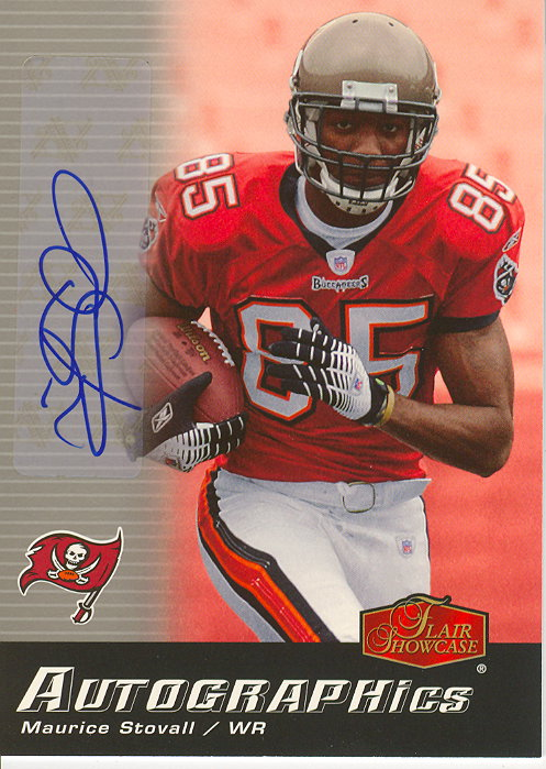 2006 Flair Showcase Autographics #AUMS Maurice Stovall