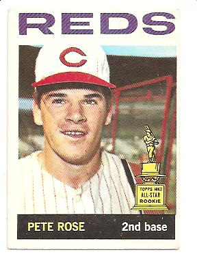 1964 Topps #125 Pete Rose UER/Born in 1942 front image