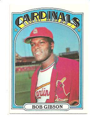 1972 Topps #130 Bob Gibson