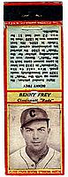 1934 Diamond Match Co. Silver Border #59 Benny Frey front image