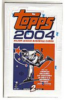 2004 Topps Series 2 hobby baseball box - 36 packs of 10 cards