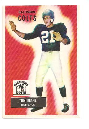 1955 Bowman #30 Tom Keane