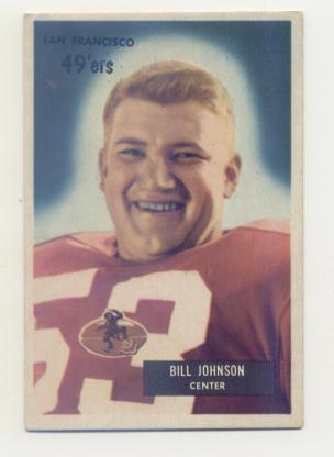 1955 Bowman #46 Bill Johnson C