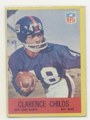 1967 Philadelphia #111 Clarence Childs