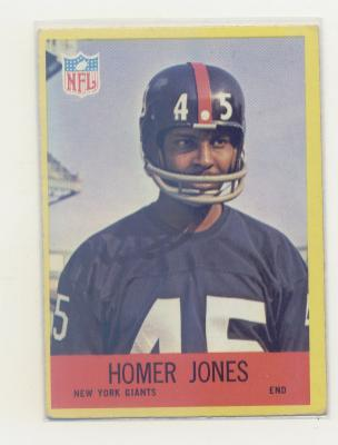 1967 Philadelphia #113 Homer Jones RC