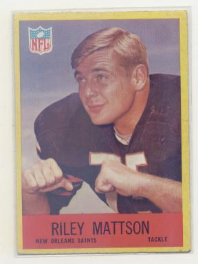 1967 Philadelphia #127 Riley Mattson