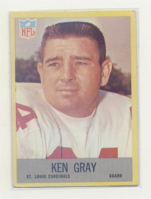 1967 Philadelphia #160 Ken Gray