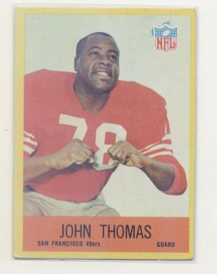1967 Philadelphia #177 John Thomas