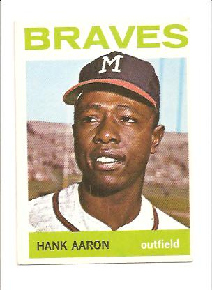 1964 Topps #300 Hank Aaron