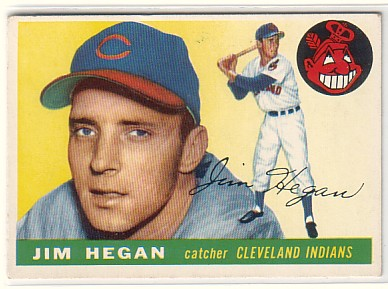 1955 Topps #7 Jim Hegan