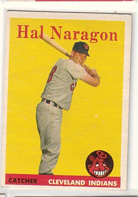 1958 Topps #22 Hal Naragon
