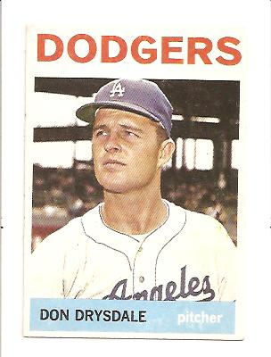 1964 Topps #120 Don Drysdale