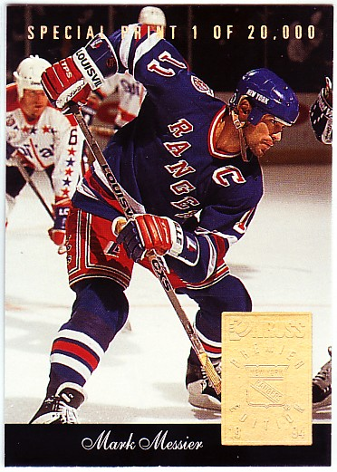 1993-94 Donruss Special Print #O Mark Messier