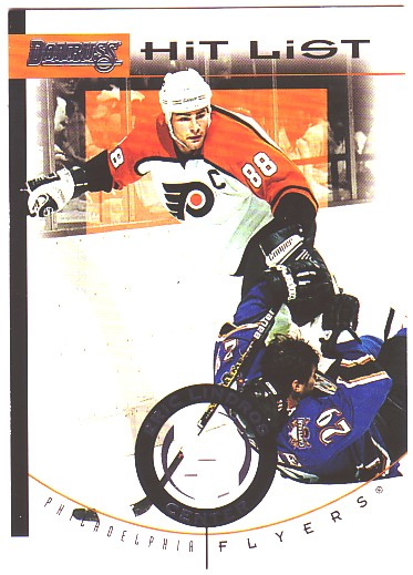 1996-97 Donruss Hit List #1 Eric Lindros